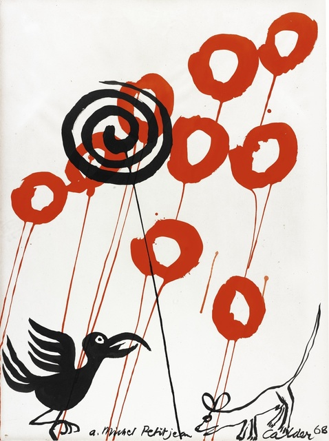 Alexander Calder, 'Le Courbeau et la renard', 1968, Sotheby's