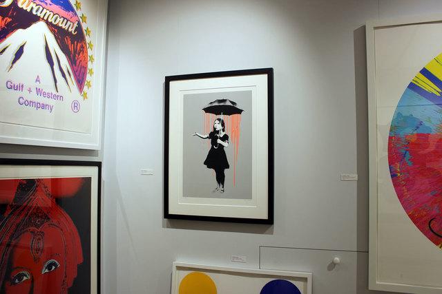 Banksy, 'Nola (Orange Rain)', 2008, Gormleys Fine Art