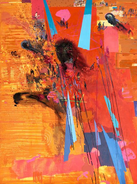 Clive van den Berg, 'Shards of Sky', 2016, Painting, Oil on canvas, Goodman Gallery