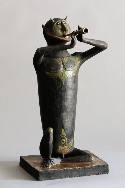 , 'Faune, joueur de flute,' 1964, Lebreton