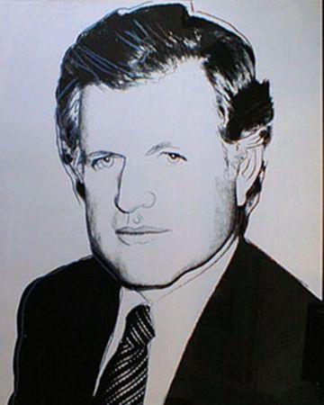 Andy Warhol, 'Edward Kennedy Black And White', 1980, Kunzt Gallery