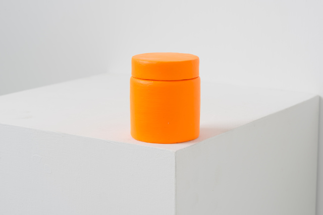 , 'Paint Can _Flourescent Orange-Yellow,' 2016, Eslite Gallery