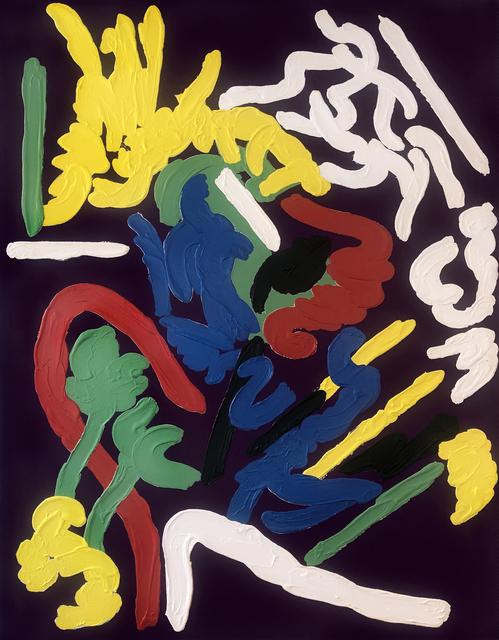 Pierre Dunoyer, 'Deep Purple', 1985, Nohra Haime Gallery