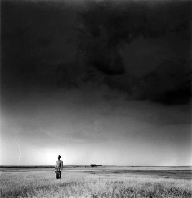 , 'Lightning Field, North Dakota (Left),' 1987, Ben Brown Fine Arts