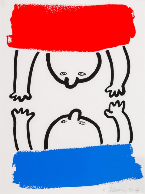Keith Haring, 'No.15, from The Story of Red and Blue', 1989-90, Heritage Auctions
