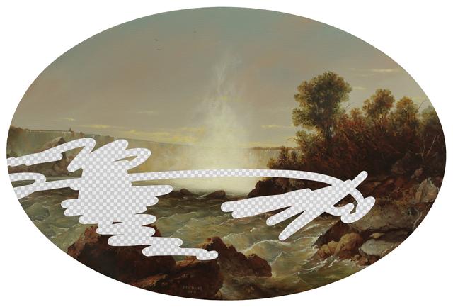 , 'Time Never Tells (Niagara Falls, Erasure No. 4),' 2018, Modernism Inc.
