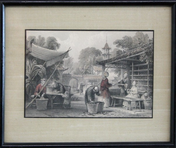 , 'Set of Hand-Colored Chinese Engravings,' , The Loft Fine Art