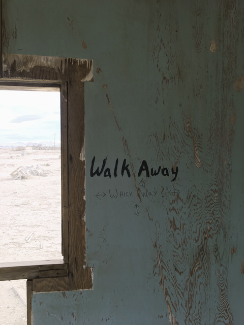 ", '""Walk away,"" Lucerne Valley, California,' 2017, Fraenkel Gallery"