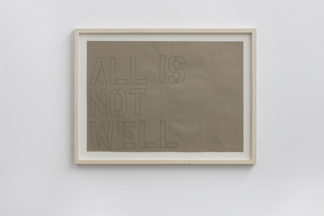 , 'All is not well,' 2012, Francesca Minini