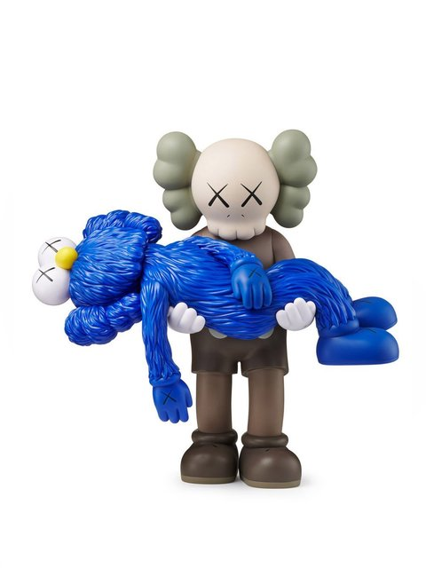 KAWS, 'GONE (Blue)', 2019, Taglialatella Galleries