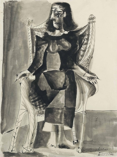 Pablo Picasso, 'Femme assise (Dora Maar)', 1942, Christie's