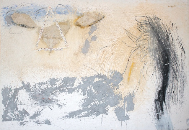 Marcello Mariani, 'Forma Archetipa', ca. 1990, Painting, Oil, Mixed Media and Collage on Canvas, Studio Mariani Gallery