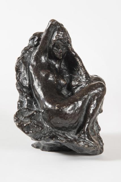 Pierre Bonnard, 'Baigneuse assise devant un rocher, son bras droit replié derrière la tête', Unknown, HELENE BAILLY GALLERY