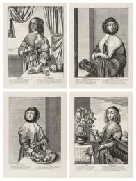 The Four Seasons: The three quarter length figures