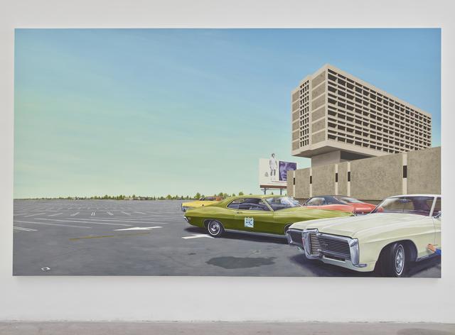 , 'Center 1968 Pontiac Grand Prix,' 2018, GRIMM