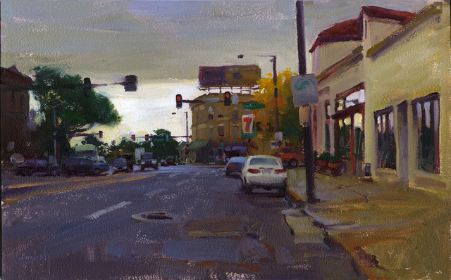 Kim English, 'Colfax & York', 2021, Painting, Oil, Abend Gallery