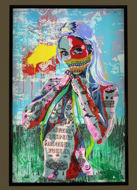 , 'Timekeeper 37 - All you need is love,' 2017, Art Supermarket