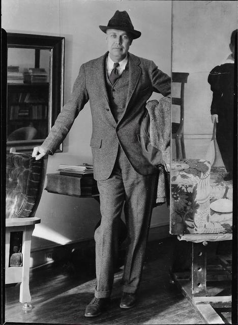 Louise Dahl-Wolfe, 'Edward Hopper', 1933, Photography, Gelatin Silver Print, Staley-Wise Gallery