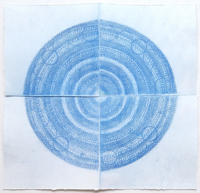 , 'Sysyphus in Blue (Print No. 1),' , form & concept