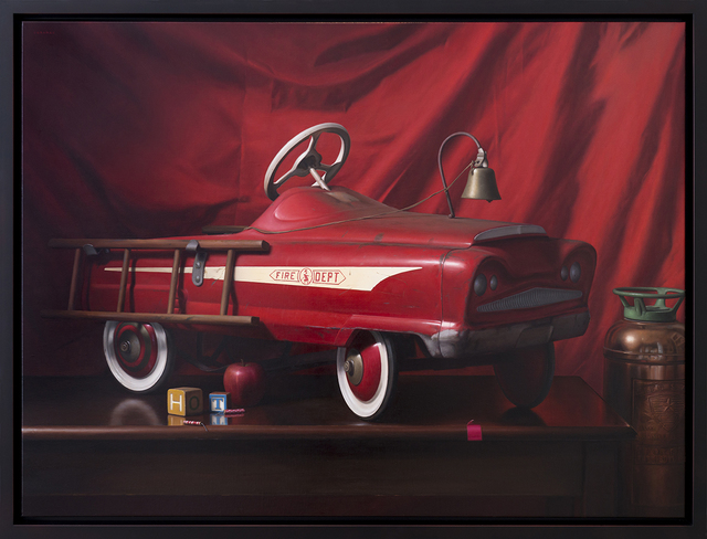, 'Fire Engine Chronicle,' 2017, Joshua Liner Gallery