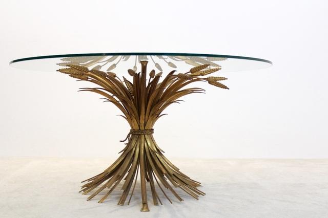 , 'Original Coco Chanel style Gilt Metal Coffee Table, France 1960s,' ca. 1960, MooieStukken