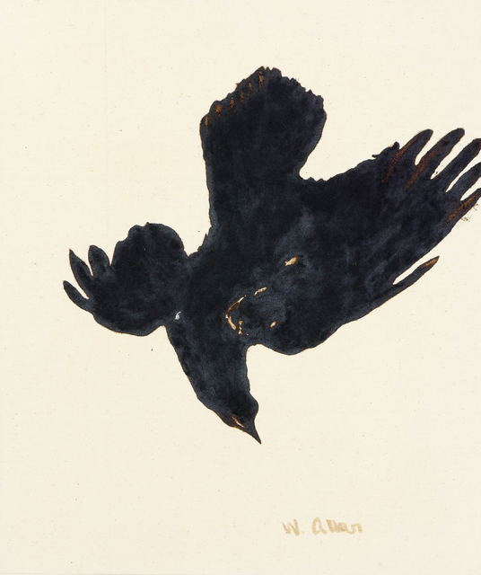 , 'Crow #1,' 2016, Anglim Gilbert Gallery