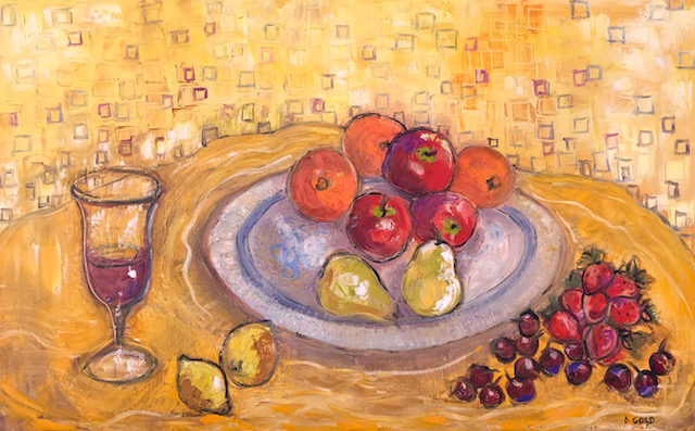 , 'Fruit and red wine,' 2018, Gallery 901