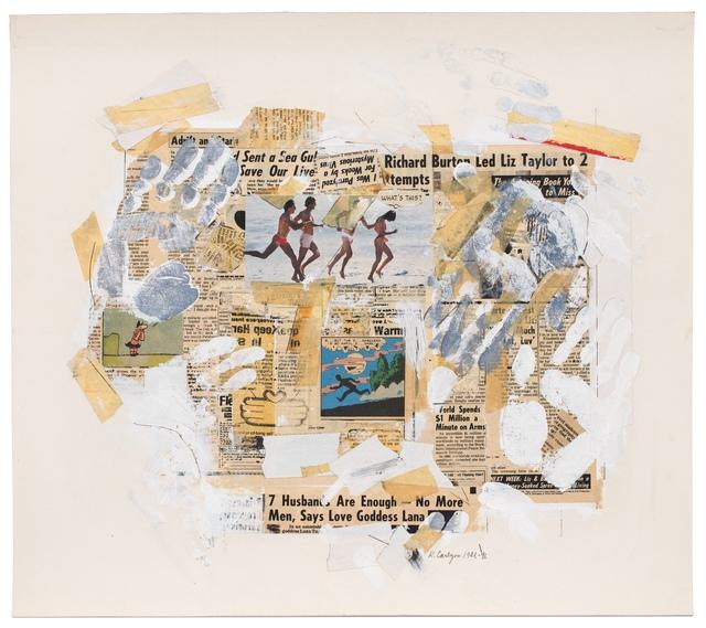 , 'HAND-ME-DOWN #9 (handful),' 1981, Reynolds Gallery