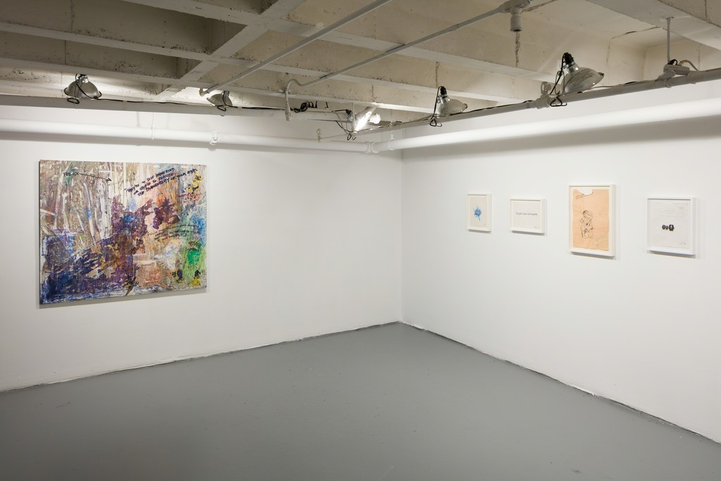 Lee Quiñones, If These Walls Could Talk, Installation View at CJG, January 2019