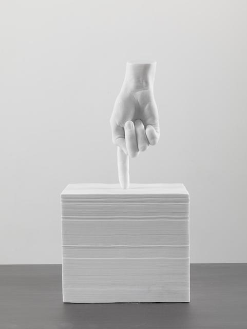 , 'Colpo Mancino II,' 2014, Studio Trisorio