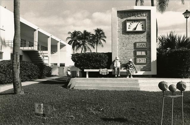 , 'Miami Beach, January 1, 1975,' 1975, Deborah Bell Photographs