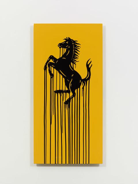 , 'Liquidated Ferrari - Yellow,' 2013, Taglialatella Galleries