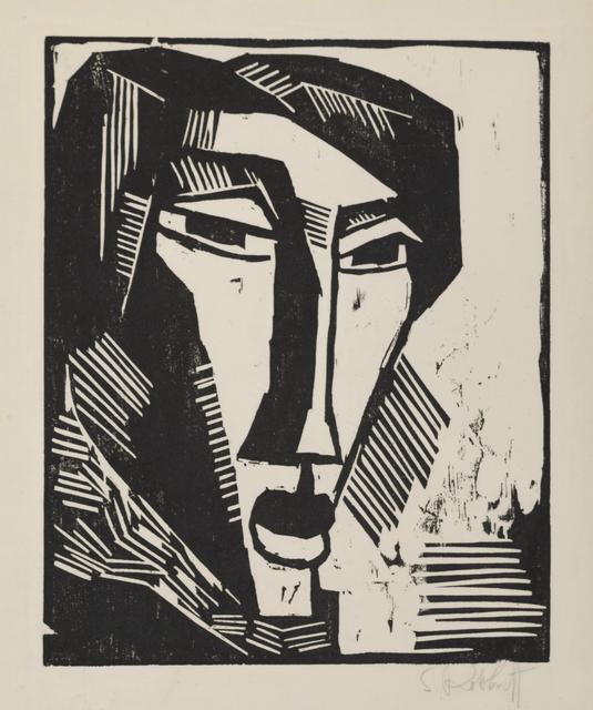 , 'Head of a Woman,' 1915, Galerie St. Etienne
