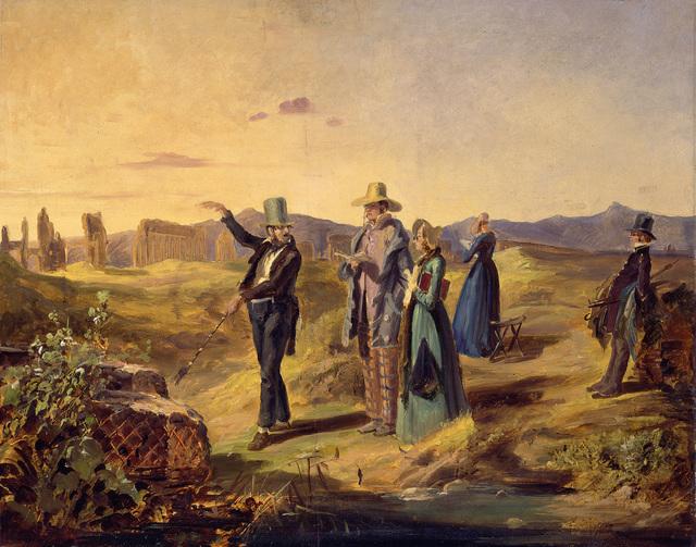 , 'Englishmen in Campagna,' ca. 1835, Alte Nationalgalerie