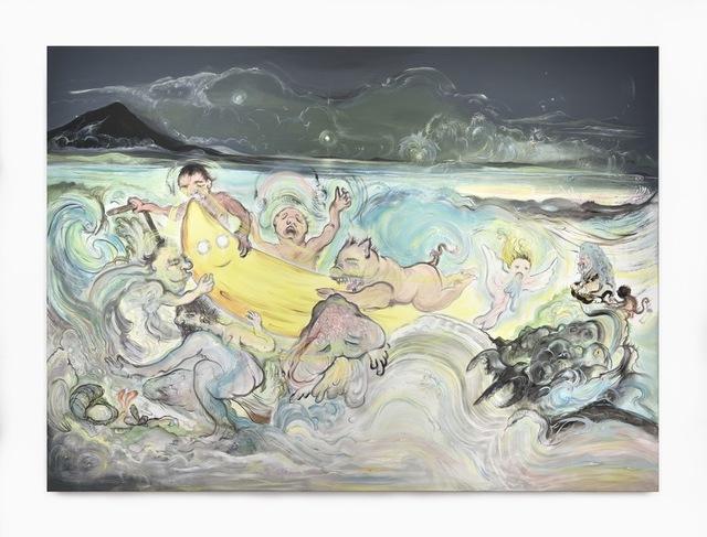 , 'Tempête sur le lac de Galilée,' 2016, Art Bärtschi & Cie | Geneva, Switzerland
