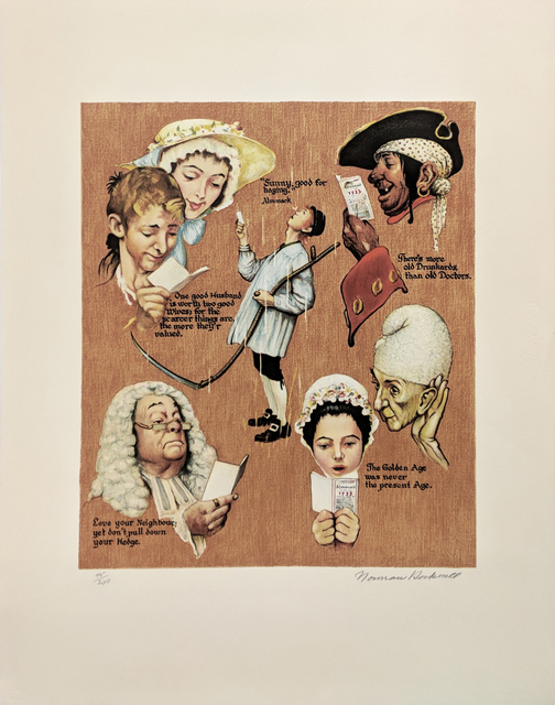 Norman Rockwell, 'THE GOLDEN AGE', 1973, Gallery Art