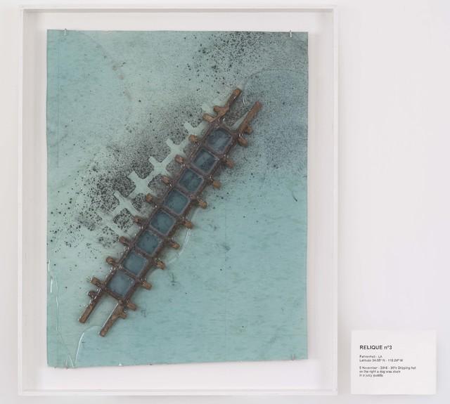 , 'RELIQUE n°3, 5 November 2016,' 2016, Galerie Nathalie Obadia
