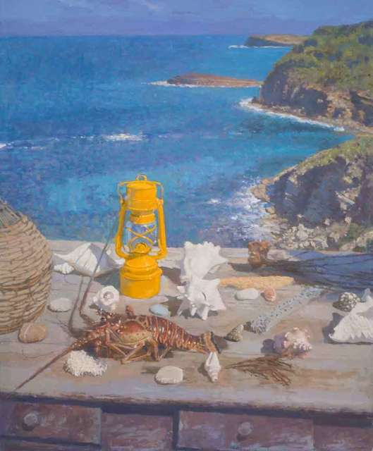 , 'The Yellow Lamp, Normandy,' 2018, Catto Gallery