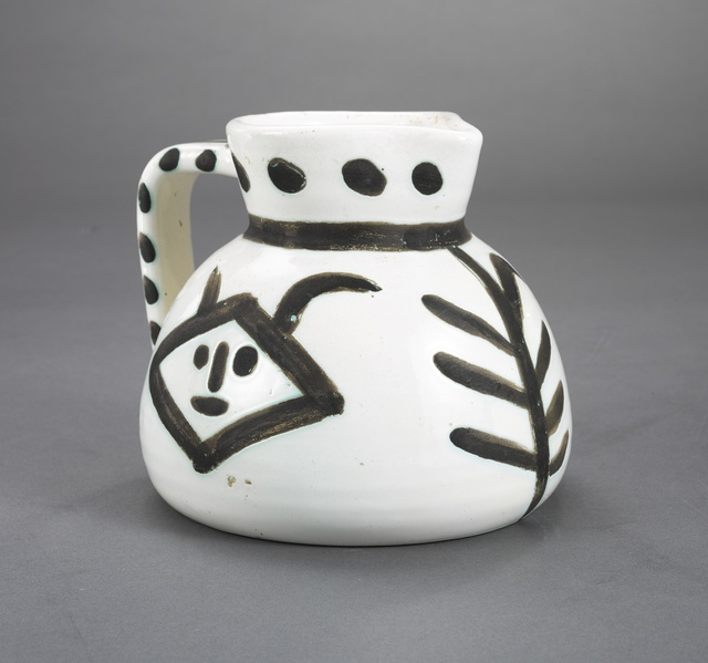 Pablo Picasso, 'Pichet têtes (A.R. 221)', 1952, Other, Terre de faïence pitcher, painted and partially glazed, Sotheby's