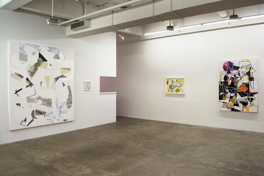 Aaron Wexler, Samurai, 2014, Plotting Against Yellow, 2014, Knot In The Now, 2014