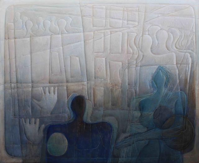 , 'Discourse of Silence 5,' 2017, al markhiya gallery