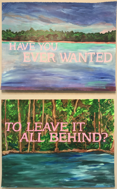 , 'To Leave It All Behind | Have You Ever Wanted,' 2019, JAYJAY