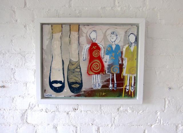, 'Three Dresses,' 2018, Flat Space Art
