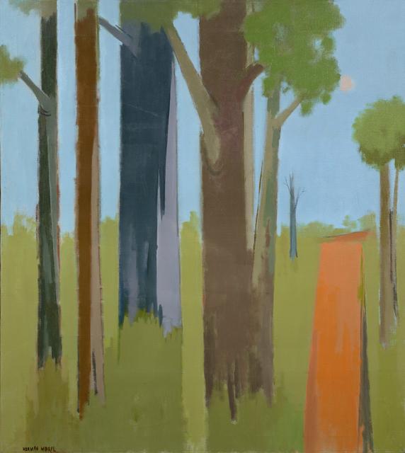 , 'Trees and Road,' 1980, Debra Force Fine Art