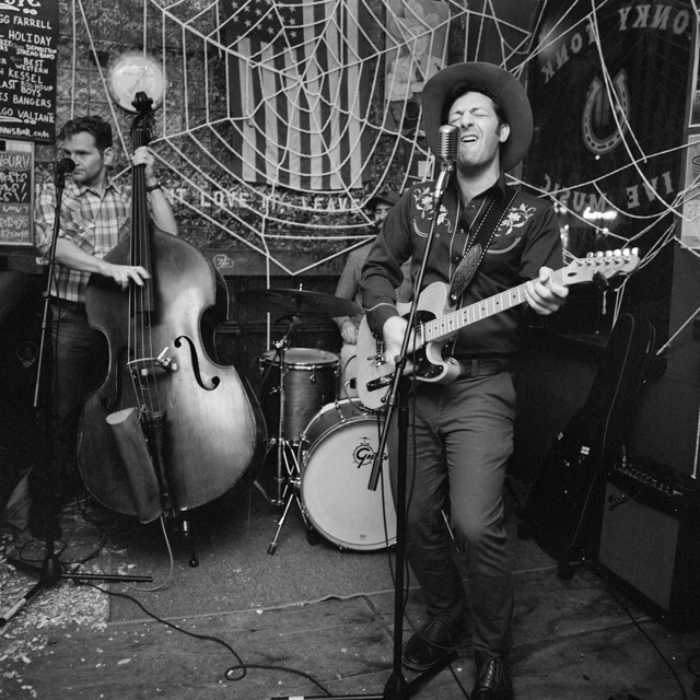 Chad Schaefer, 'Seth Kessel & the Two Cent Band at Skinny Dennis, Brooklyn', 2018, Soho Photo Gallery