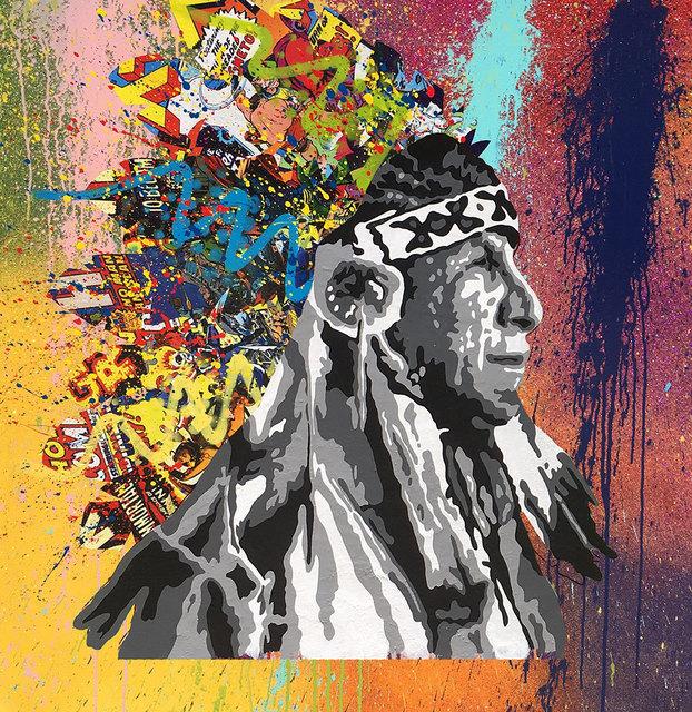 , 'Rainbow Warrior Prophecy,' , Corey Helford Gallery