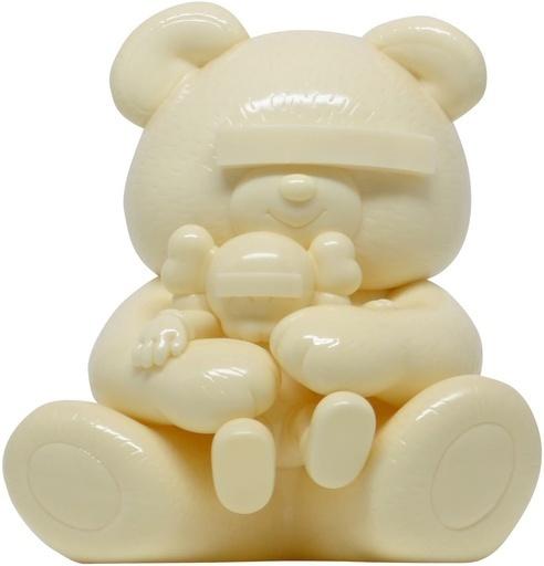 KAWS, 'KAWS X JUN TAKAHASHI UNDERCOVER BEAR WHITE', 2009, Sculpture, Painted Cast Vinyl, Marcel Katz Art
