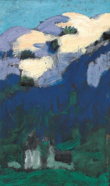 , 'Twilight over Kitzbühel,' ca. 1925, Galerie Kovacek & Zetter