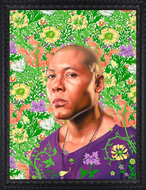Kehinde Wiley, 'Portrait of Jae White', 2011, Templon
