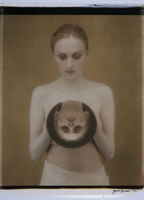 Joyce Tenneson, 'Suzanne and Mirror', 1991, Photography, Original Polaroid, one of a kind, Dowling Walsh
